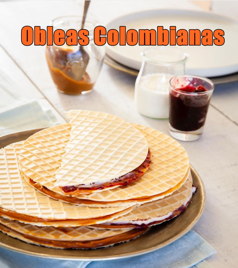 obleas colombianas